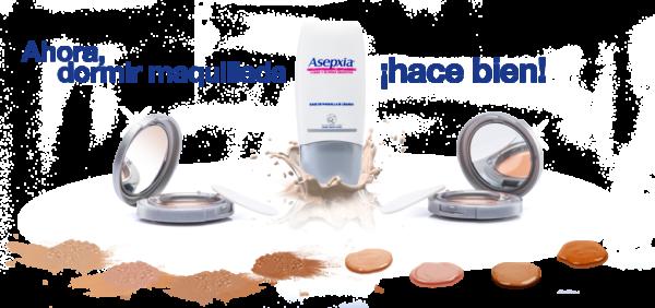 Línea de Maquillajes Asepxia